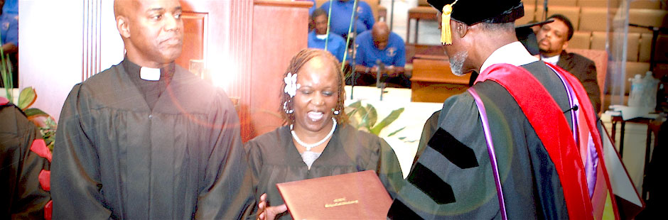 MWE Graduates Receiving Diplomas